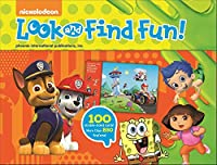 Nickelodeon - PAW Patrol, Bubble Guppies, and More! Look and Find Activity Cards - PI Kids