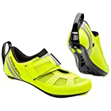 Louis Garneau, Men's Tri X-Speed III Triathlon Cycling Shoes for Racing and Indoor Biking, Compatible with Major Road and SPD Pedals, Bright Yellow, US (6), EU (39)