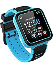Kids Smart Watch, Kids Smartwatch with Phone Call Game Music Player SOS Calculator Recorder Alarm Clock [1GB Micro SD Included], Kids Watch Gifts for Boys Girls 3-12 Years