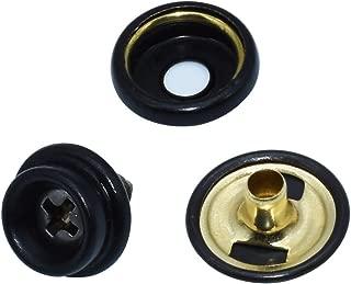 TommoT 60 Pieces Stainless Steel Fastener Screw Snap, Marine Grade, 3/8