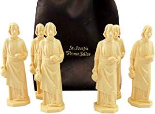 Westman Works St Joseph Home Seller Statue Bulk Lot Set with Gift Bag, Pack of 6