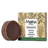 Meina - Haarseife Naturkosmetik - Bio Shampoo Bar mit ayurvedischen Kräutern (1 x 80 g)...