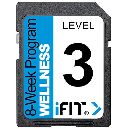 iFIT Exercise Workout SD Card - 8-Week 'Wellness' Program Level 3