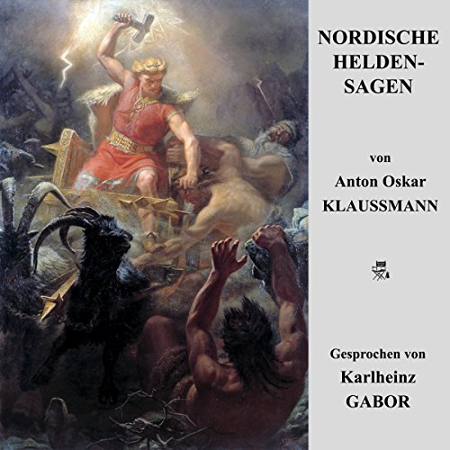 Nordische Heldensagen audiobook cover art