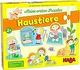 HABA-305470 Mis Primeros Puzzles-Mascotas puzle Infantil, Multicolor (305470)