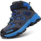 Scarpe da Escursionismo Stivali da Neve Scarpe da Trekking Calzature da escursionismo Unisex – Bambino(B blu,24 EU)