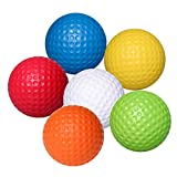 WINOMO Praxis Golfbälle PU Golfbälle Indoor Outdoor Training Golf Ball 6pcs