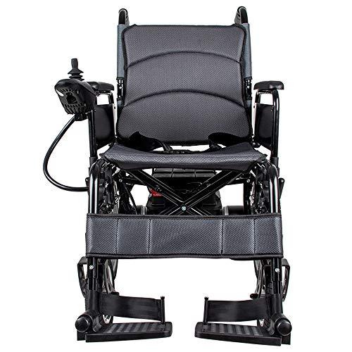 WWWPOIUY Fauteuil Roulant électrique Senior handicapé Fauteuil...