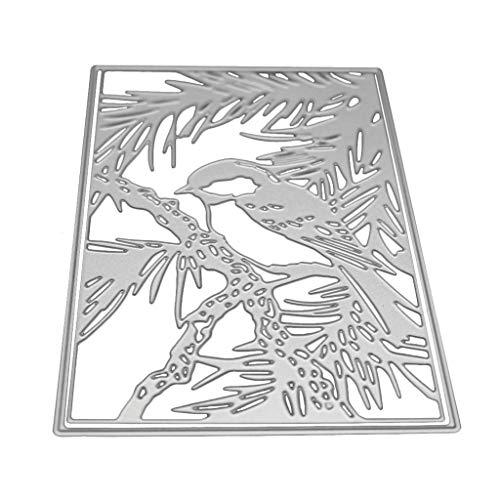 WDFVGEE - Plantilla de corte de metal para decoración de fondo, para manualidades, álbum de recortes, álbum de recortes, sello de papel, para manualidades, molde hecho a mano