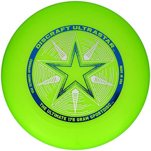 Discraft Ultra Star Sportscheibe, 175 g, Grün