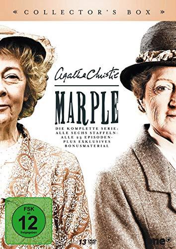 Agatha Christie: Marple - Die komplette Serie. Collector's Box. - Alle sechs Staffeln. Alle 23 Episoden. Plus exklusives Bonusmaterial. [13 DVDs]