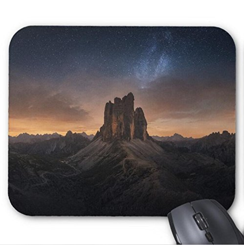 Mousepad Dolomites Milkyway Photography Print Mouse Mat