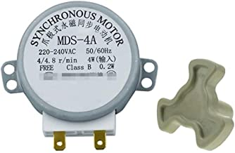 قطع غيار الميكروويف MDS-4A AC220-240V 4/4.8RPM Micro Turntable Synchronous Tray Motor Microwave Oven Accessories Spares Pa...