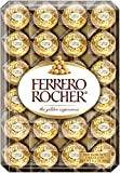 Ferrero Rocher Fine Hazelnut Chocolates, 48Count Chocolate Gift Box,...