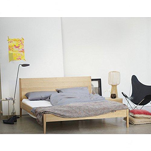 Sulva Aleria Bett - Eichefurnier - 160 x 200 cm