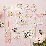 Ginger Ray Floral Hen Party Rose Gold 10 Stück, 10er-Pack