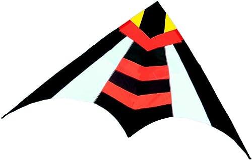 Zhao Enfant Jouet Volant, Grande Abeille Couleurée modélisation Triangle extérieur Kite Park Game Toy Breeze Facile à Voler Cerfs-Volants, 280  140CM (Couleur   Rouge)