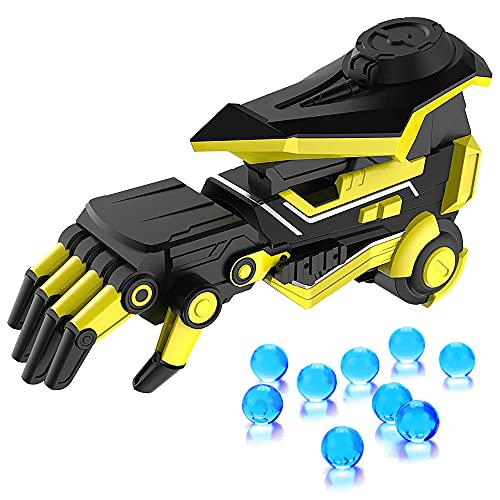 ELO Gel Ball Blaster Gun(Robot Hand), Shoots Eco-Friendly Water Gel Beads, Backyard Fun and Outdoor Games for Kids,Adults,Boys and Girls Ages 12+