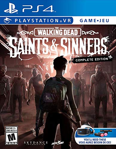 The Walking Dead: Saints & Sinners - The Complete Edition (PSVR/PS4) $19.99 - Amazon