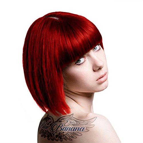 2 x Stargazer Semi Permanent Hot Red Hair Colour Dye
