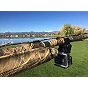 Caddie Buddy Shotgun Mount for Gopro - Works on All Gun Barrells - Rifles and Scopes Too.