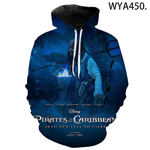 Style Fashion Hoodies Movies Pirates of The Caribbean Printed 3D Hoodie Men Women Children Sweatshirt Cool Hoody Pullover-WYA450_L