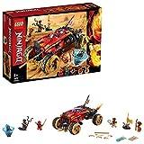 LEGO-NINJAGO Le 4x4 Katana Jeu pour Enfant 8 Ans et Plus, Briques de Construction Garçon et Fille, 450 Pièces 70675