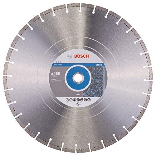 Bosch Professional Diamanttrennscheibe Standard für Stone, 450 x 25,40 x 3,6 x 10 mm, 2608602605