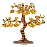 Feng Shui Money Treei Apple Tree Decorazioni Regali da Sposa Nuovo Prodotti Soggiorno Tatuaggi personalità for buona Fortuna Wealth & Prosperity per L'Ufficio a casa