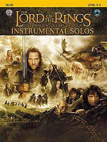 Lord Of The Rings: Instrumental Solos: Flute (Book And CD). Für Querflöte