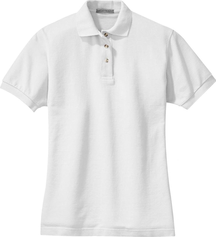 Port Authority Ladies Pique Sport Shirt (L420) Available in 24 colors