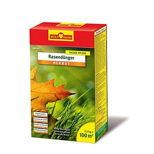 WOLF-Garten - Rasen-Herbst-Dünger LK-B 100; 3835020