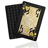 Best Playing Cards - Premium Waterproof Matte Black Playing Cards, Luxury Deck Review