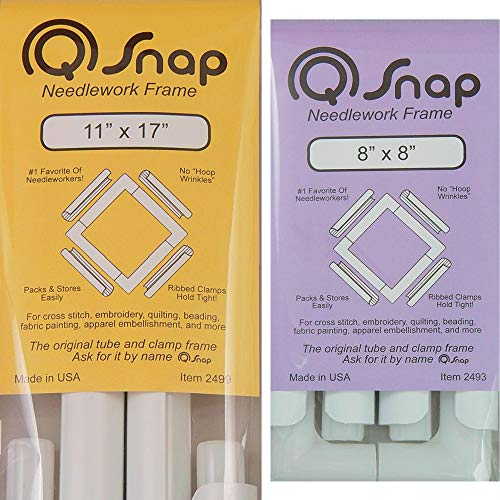 QSnap Frame Bundle: 8x8 inches and 11x17 inches