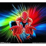 スパイダーマン3dステレオウォールステッカー新しいステッカークリエイティブ装飾壁紙子供部屋寝室ウォールステッカー