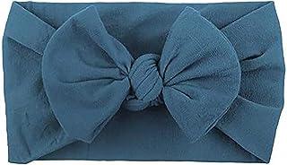 6 PCS Baby Girls Bowknot Headbands Elastic Soft Hairbands Headband Head Wraps Stretch Hair Band Hair Styling Accessories F...