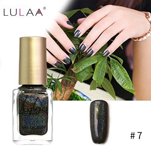 IGEMY LULAA 10ML Farbe Gel Nagellack Nail Art, Gelpoliermittel UV LED Gelpoliermittel (G)