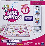Mini Brands Mini Market Dash Food Game, for Families and Kids Ages 5 and up