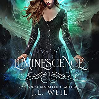 Luminescence     Luminescence Trilogy, Book 1              By:                                                                                                                                 J. L. Weil                               Narrated by:                                                                                                                                 Courtney Parker                      Length: 6 hrs and 20 mins     55 ratings     Overall 4.2