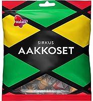 Malaco Aakkoset Sirkus マラコ アーコセット サーカス フルーツ&サルミアッキ グミ 1袋×315g 北欧のお菓子です [並行輸入品]
