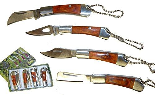 KaSulTools 4'er Mini Taschenmesser Taschen Messer Set 5 cm*Neu*Ovp*