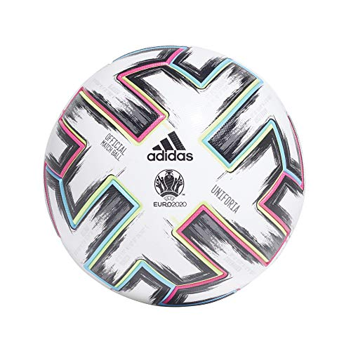 Adidas Uniforia Match Ball EURO 2020 Weiß Size 5