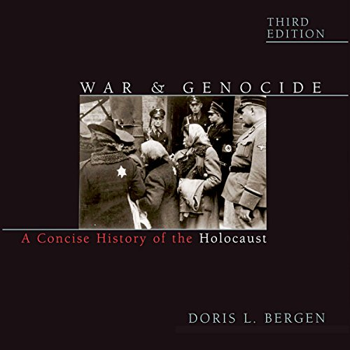 War and Genocide audiobook cover art