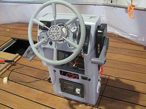Steuerstand für den Bootsbau (Farbe: grau)