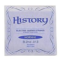 HISTORY HEGSN013 エレキギター弦 B-2nd .013 バラ弦1本 (ヒストリー)