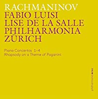Rachmaninov: Piano Concertos 1-4 - Rhapsody on a Theme of Paganini by Lise de la Salle