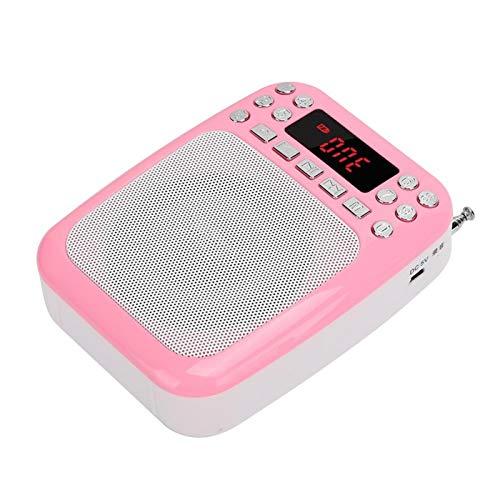 Mxzzand Altavoz de Radio FM Batería de Gran Capacidad Altavoz MP3 Recargable,...