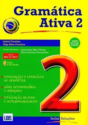 Gramatica Ativa Versao Brasileira Book 2 Brazilian Version by Isabel Coimbra 2014 01 31 product image