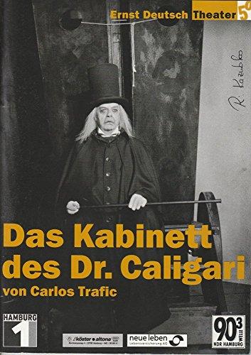 Programmheft Das Kabinett des Dr. Caligari von Carlos Trafic Premiere 4. Oktober 2001 Spielzeit 2001 / 2002