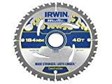 Irwin - Disco sierra circular weldtec 184mm/40t ar30